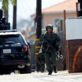 Accused gunman charged in fatal San Diego police shooting