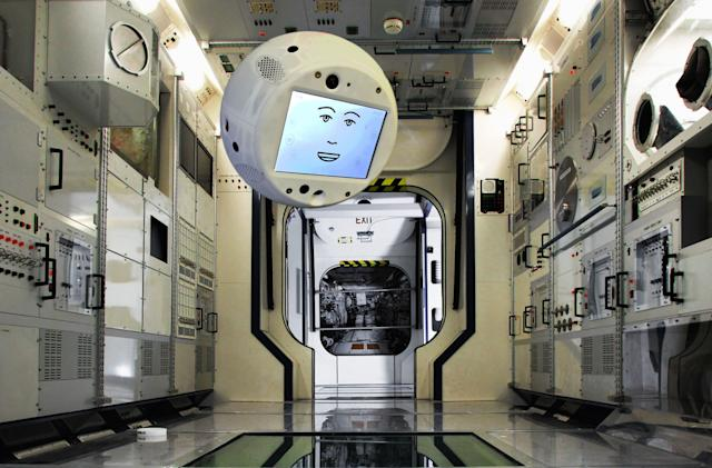 The newest ISS 'crew member' will be a flying robot with AI (updated)