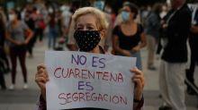 """Coronavirus en España: el polémico """"confinamiento selectivo"""" de Madrid para frenar los contagios (y por qué dicen que """"segrega"""" a las zonas pobres)"""