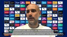 Guardiola: Wollen Silva Abschiedsspiel schenken