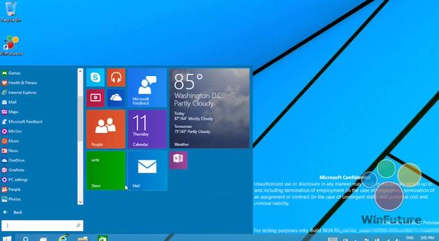 Aparecen dos vídeos de Windows 9 con todo lujo de detalles