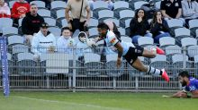 Johnson puts on NRL clinic in Sharks win