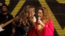 Ivete celebra dueto com Daniela Mercury: 'Ela é a dona do jogo'