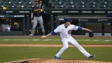 Hendricks goes 9; Rizzo HRs, sanitizes; Cubs beat Brew 3-0