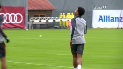 Serge Gnabry vom FC Bayern will den Titel-Hattrick in der Champions League