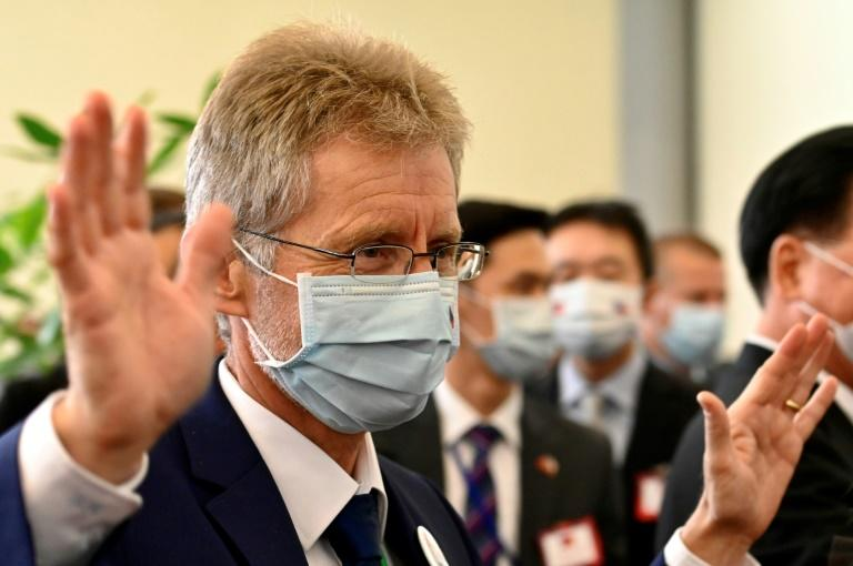 Czech Senate president's group arrives in Taiwan
