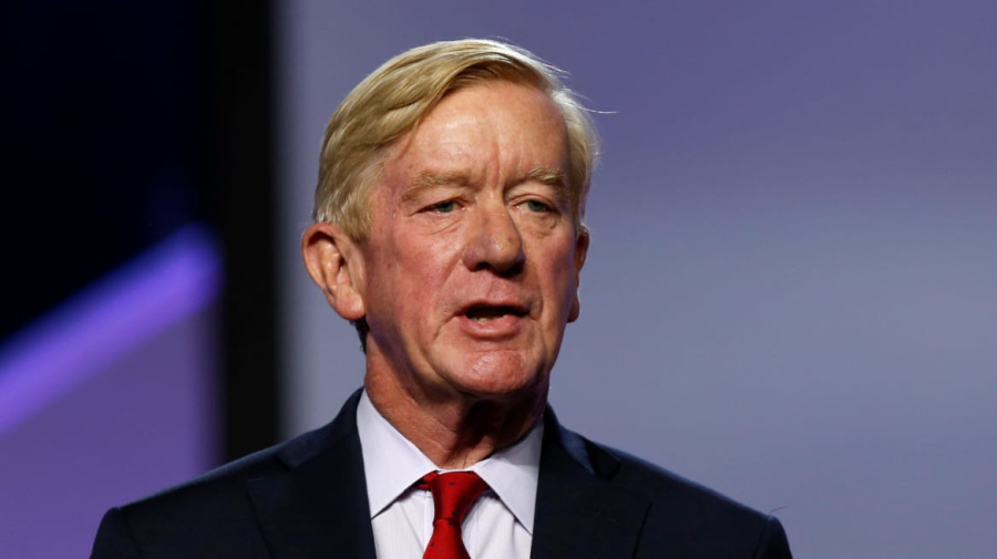 GOP challenger Weld accuses Trump of 'treason'