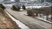 Tanak says 'everything fine' after crash, targets Sweden