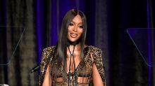 Naomi Campbell denuncia que sufre racismo en Asia