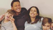 Stacey Solomon debuts bare baby bump as Joe Swash and her son mock her new outfit