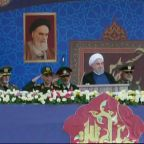 Iranian president warns against the presence of foreign militaries in the Middle East