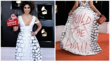 Is this the most controversial Grammy's outfit?