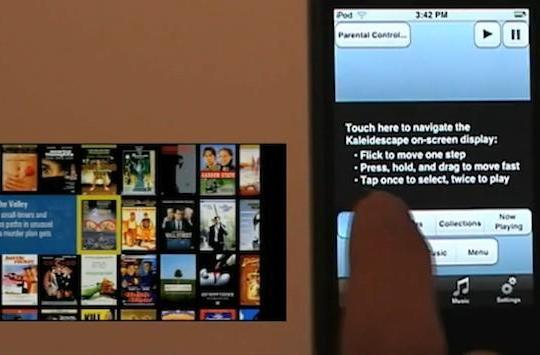 Kaleidescape joins the iPhone as a remote party