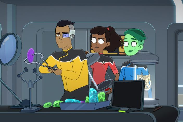 'Star Trek: Lower Decks' cleans out its literal and metaphorical closets