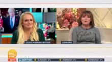 'What was the point in you coming on?': Lorraine Kelly chips in on 'GMB' interview to blast Jennifer Arcuri over unanswered questions