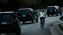 Campaign Raises More Than $100,500 For Cyclist Who Was Fired For Flipping Off Trump