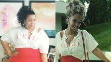 Plus-Size-Version der Stars: Kurvige Modebloggerin imitiert die Promi-Styles