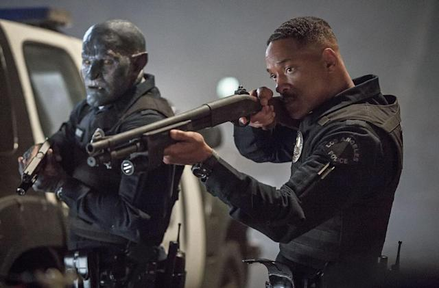 Here's our closest look yet at Will Smith's 'Bright' for Netflix