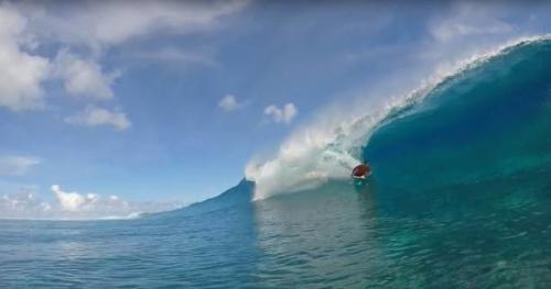 Bodyboard - Dans les tubes des îles Cook avec Yvon Martinez