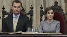 """La """"tremenda bronca"""" entre Felipe VI y Letizia en Estados Unidos"""