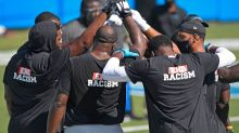 Carolina Panthers officially started OTAs today as players start to gather in Charlotte