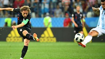 VIDEO - Le but superbe de Modric qui enterre l'Argentine