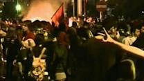 Raw: Protests Heat Up in Turkey