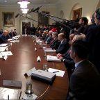 Trump slams impeachment hearings: 'kangaroo court'