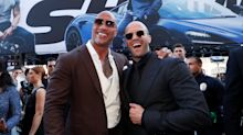 The Rock 'tequila toasts' fans for 'Hobbs & Shaw' Rotten Tomatoes rating