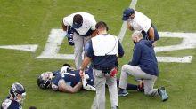 Titans left tackle Taylor Lewan confirms he tore his ACL