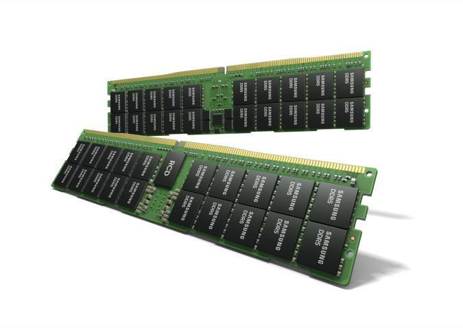 Samsung unveils a 512GB DDR5 RAM module