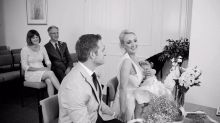 Bride breastfeeds daughter throughout wedding ceremony, Internet loves it