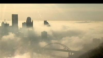 Pittsburgh Wakes Up To Foggy Morning
