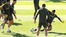 """Diego Martínez tiene """"muy en cuenta"""" a Luis Suárez en el """"plan de partido"""""""