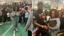 Oprah surprises New Jersey principal, students with $500,000 donation
