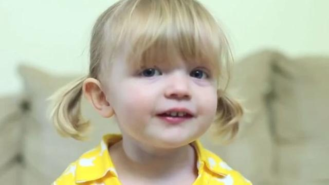 2-Year-Old's Birthday Message for Mommy