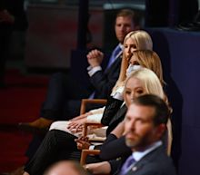 Don Jr., Ivanka, Eric, and Tiffany Trump didn't wear masks during the president's showdown with Joe Biden, breaking the venue's rules