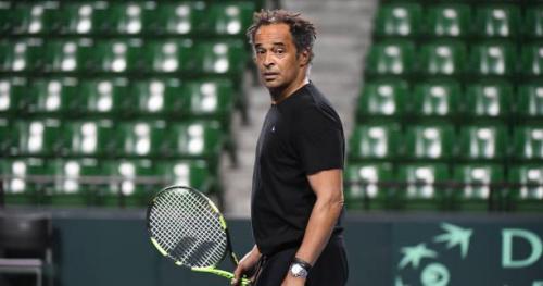 Coupe Davis - Yannick Noah : «Ça n'a pas été simple»