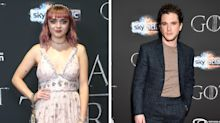 Kit Harington Played Makeup Artist to Maisie Williams on 'GoT' Set