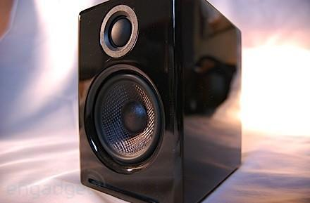 Engadget's recession antidote: win a pair of Audioengine A2 speakers!
