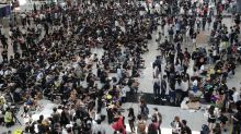 Hong Kong International Airport posts biggest monthly drop in travellers since 2009, with 851,000 fewer passengers in August amid anti-government protest crisis
