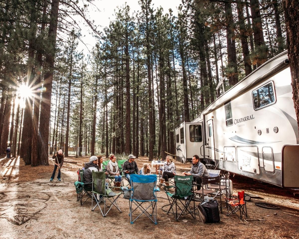 Taking a road trip is a great way to explore the country and spend time with your family — and RVshare makes renting an RV easier than ever. (RVshare)