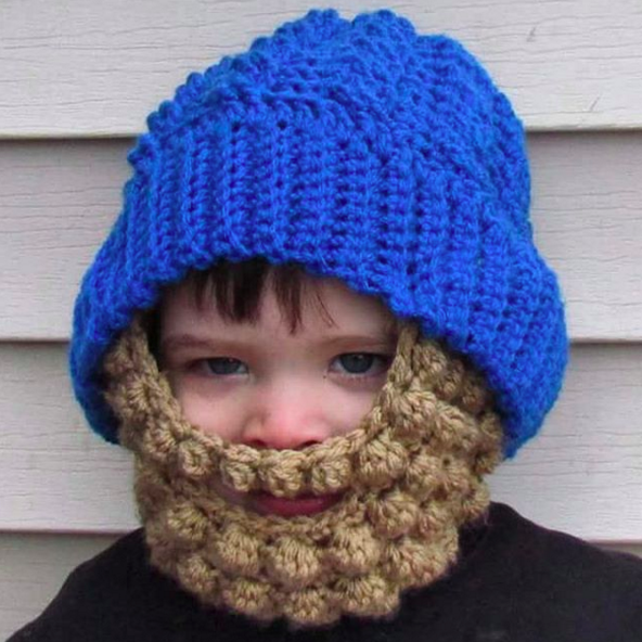 This Is One Way To Keep Your Baby S Face Warm This Winter