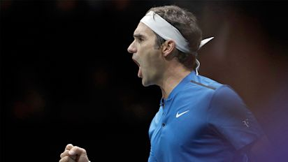 Federer clinches Laver Cup for Europe