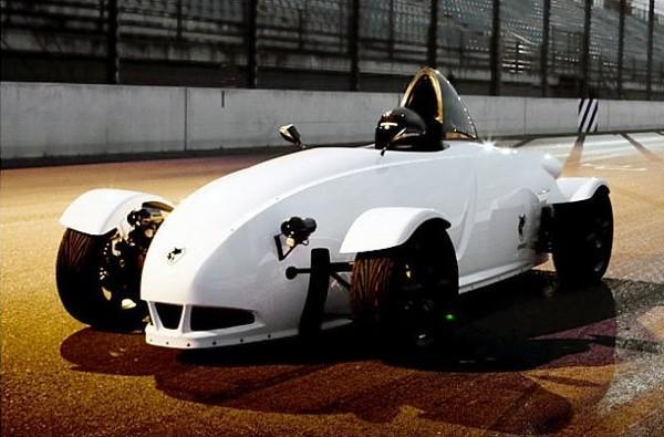 E-Wolf e1 electric race car could create new class of racing jockeys