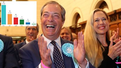 Brexit Party hand Tories and Labour crushing defeat