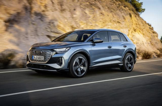 The Q4 e-tron and its Sportback sibling join Audi's European EV lineup this summer