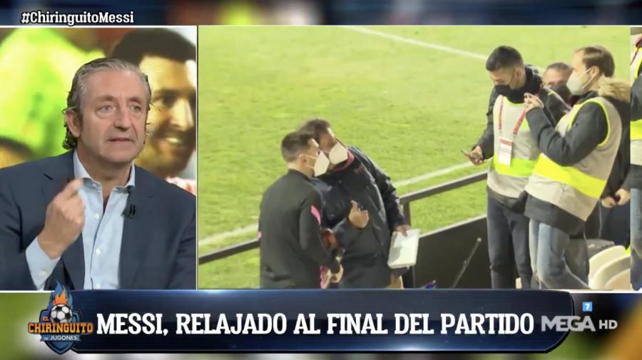'El Chiringuito' desvela un gesto de Messi que lo dice todo acerca de su estado mental actual