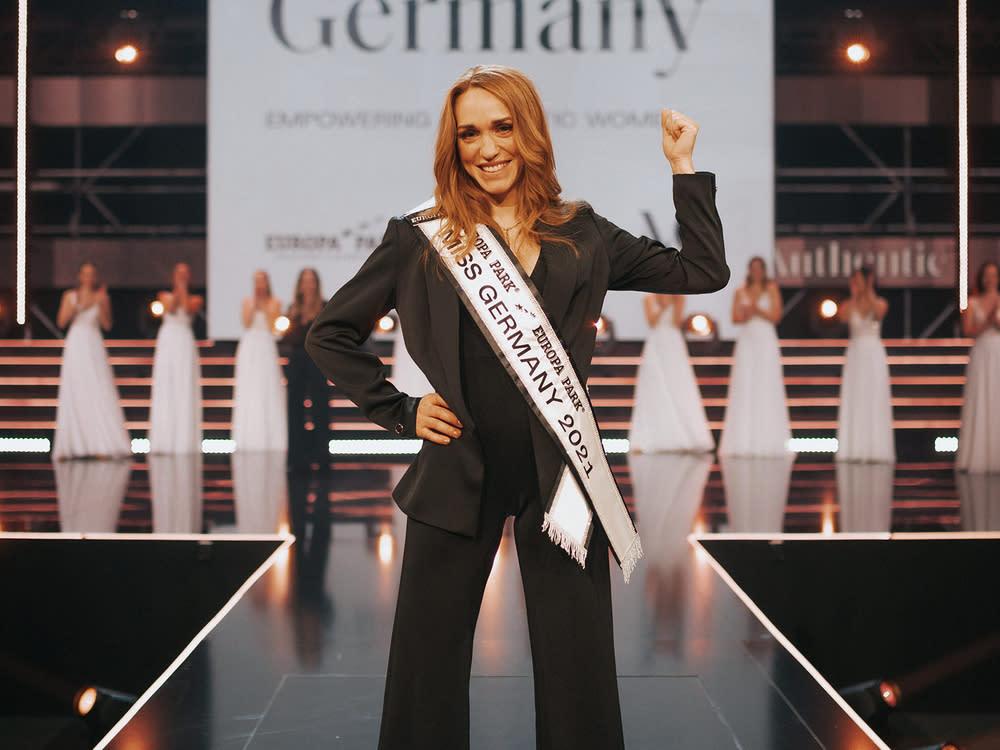 "Anja Kallenbach ist ""Miss Germany 2021"""