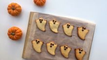 There's Nothing Scary in These Coconut Ghost Cookies